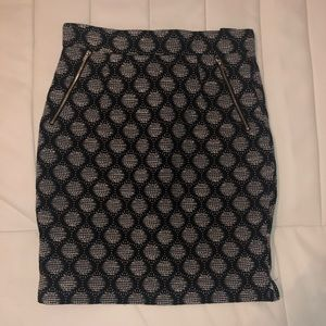 16aaa85f51 H&M Skirts   Hm Teal Mermaid Fish Scale Sequined Pencil Skirt   Poshmark